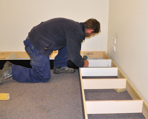Installing Cabinets On Site Installing Modular Units