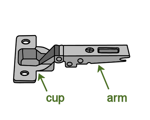 how to adjust cabinet hinges. image for slide 3 how to adjust cabinet hinges l